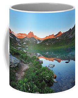 Ice Lake Sunrise Coffee Mug