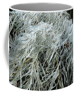 Ice On Bamboo Leaves Coffee Mug