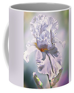 Coffee Mug featuring the digital art Ice Queen by Mary Almond