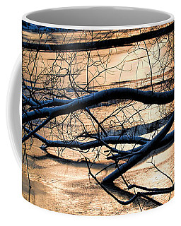 Ice Reflection  Leif Sohlman Coffee Mug by Leif Sohlman