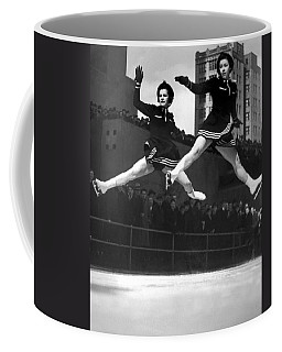 Ice Skaters Perform In Ny Coffee Mug