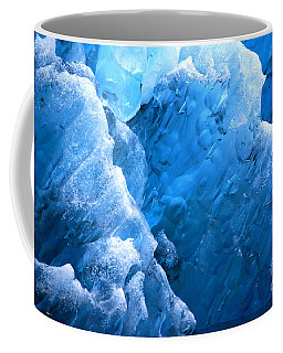 Iceberg Blues Coffee Mug by Cynthia Lagoudakis