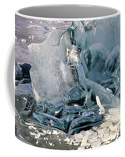 Iceberg Detail Coffee Mug by Cathy Mahnke