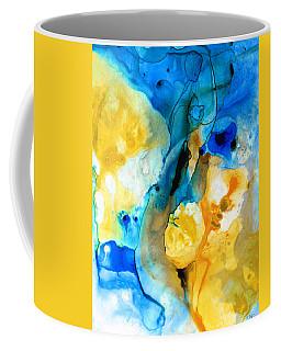 Iced Lemon Drop - Abstract Art By Sharon Cummings Coffee Mug