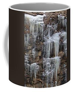 Icicle Cliffs Coffee Mug