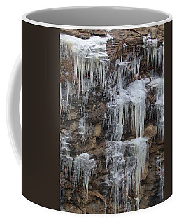 Icicle Cliffs Coffee Mug
