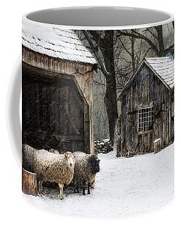 Coffee Mug featuring the photograph Icing On The Capes by Robin-Lee Vieira