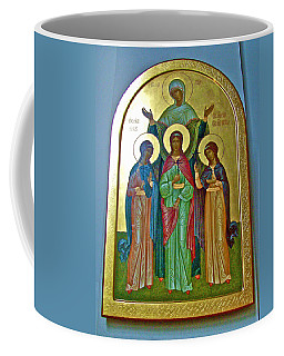 Icon Inside Chesme Church Built By Catherine The Great In Saint  Petersburg-russia Coffee Mug by Ruth Hager