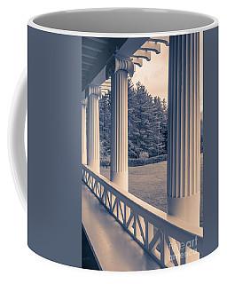 Iconic Columns On An Estate Coffee Mug