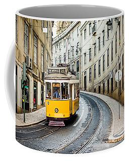 Iconic Lisbon Streetcar No. 28 IIi Coffee Mug