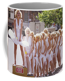 Iconic Marilyn Coffee Mug by Shaun Higson
