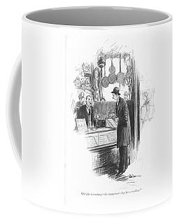 I'd Like To Exchange This Engagement Ring Coffee Mug