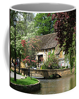 Idyllic Village Scene Coffee Mug