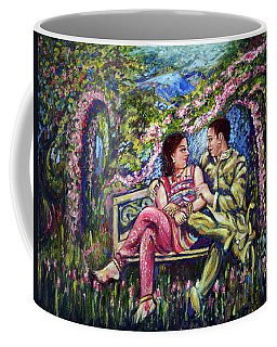 Coffee Mug featuring the painting If I Will Get Your Love by Harsh Malik