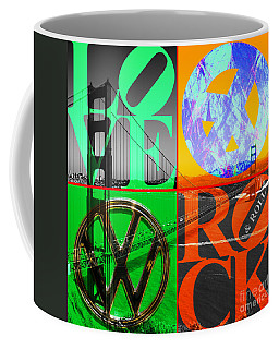 Coffee Mug featuring the photograph If You Are Going To San Francisco Be Sure To Wear Flowers In Your Hair 20140665 Square by Wingsdomain Art and Photography