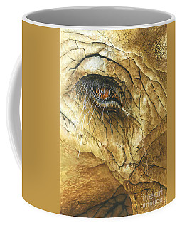 Coffee Mug featuring the painting If You Could See What I've Seen... by Barbara Jewell