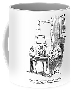 If You Would Like To Receive A Guaranteed Annual Coffee Mug