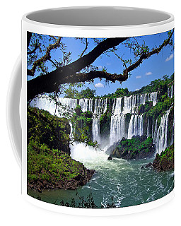 Iguazu Falls In Argentina Coffee Mug