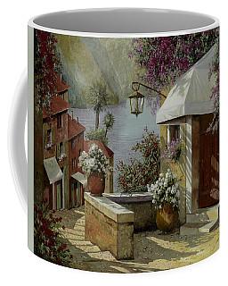 Il Lampione Oltre La Tenda Coffee Mug