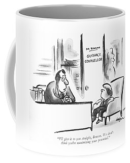 I'll Give It To You Straight Coffee Mug