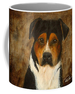 Coffee Mug featuring the painting I'll Wait For You by Barbie Batson