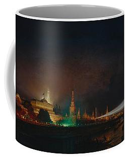 Illumination Of The Kremlin Coffee Mug