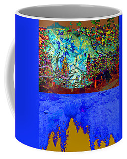 Illusion Of Lake And Forest Coffee Mug