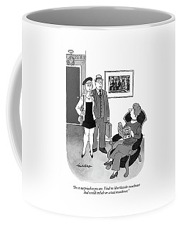 I'm As Surprised As You Are.  I Had No Idea That Coffee Mug
