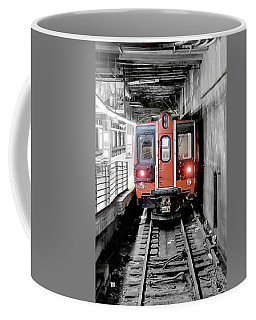 I'm Leaving On A Train Coffee Mug
