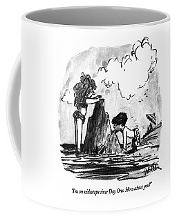 I'm On Videotape Since Day One.  How About You? Coffee Mug