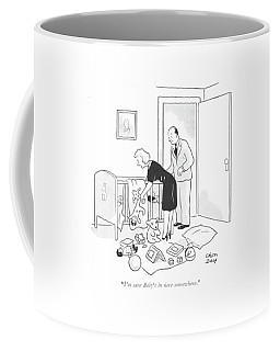 I'm Sure Baby's In Here Somewhere Coffee Mug