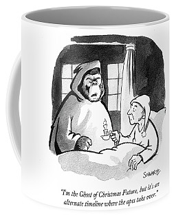 I'm The Ghost Of Christmas Future Coffee Mug