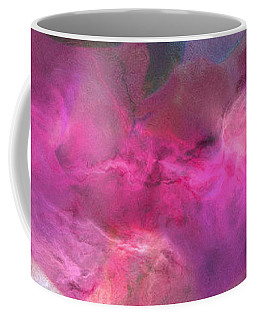 Imagination In Ruby Fire - Abstract Art Coffee Mug