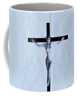 Immerse Crucifix Coffee Mug
