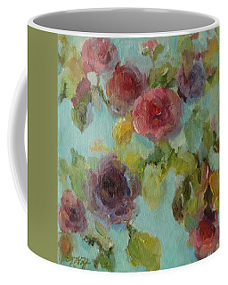 Impressionist Floral  Coffee Mug