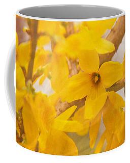 Impressionist Forsythia Coffee Mug