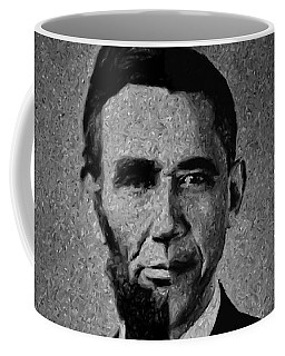 Impressionist Interpretation Of Lincoln Becoming Obama Coffee Mug