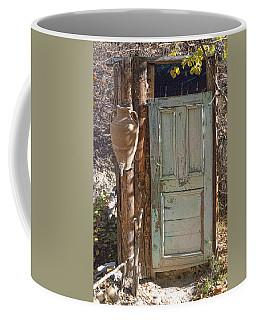 Improvised Outhouse Coffee Mug