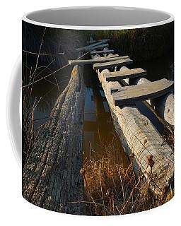 Improvised Wooden Bridge Coffee Mug