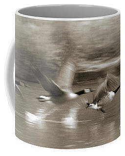In A Blur Of Feathers Coffee Mug