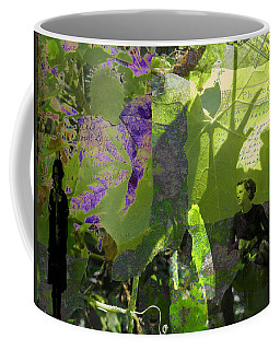Coffee Mug featuring the digital art In A Dream by Cathy Anderson