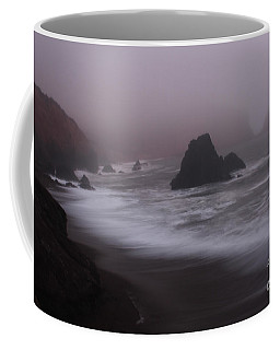 Coffee Mug featuring the photograph In A Fog by Suzanne Luft