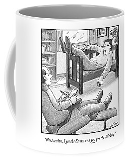 In A Therapist's Office Coffee Mug