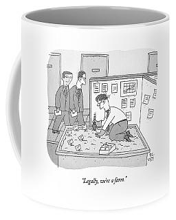 In An Office Coffee Mug