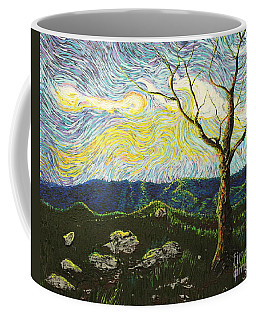 In Between A Rock And A Heaven Place Coffee Mug