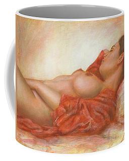 In Her Own World Coffee Mug