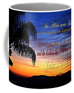 In Him Was Life Coffee Mug