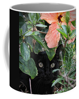 In His Jungle Coffee Mug by Peggy Hughes