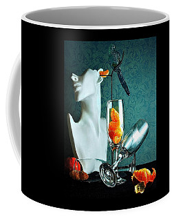 Coffee Mug featuring the photograph In Honor Of Karo by Elf Evans