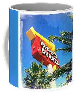 In-n-out Burger Coffee Mug by Nina Prommer